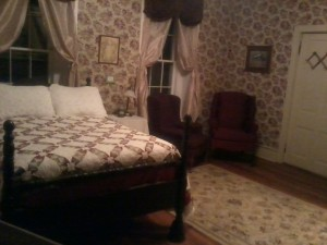 Aunt Rena's Room side view